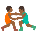 Men Wrestling, Type-5 on Google Android 7.1