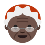 Mrs. Claus: Dark Skin Tone on Google Android 7.1