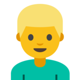 Person: Blond Hair on Google Android 7.1