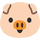 Pig Face on Google Android 7.1