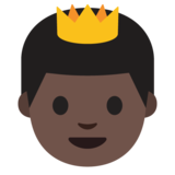 Prince: Dark Skin Tone on Google Android 7.1