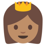 Princess: Medium Skin Tone on Google Android 7.1