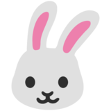 Rabbit Face on Google Android 7.1