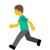 Person Running on Google Android 7.1
