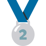2nd Place Medal on Google Android 7.1