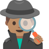 Detective: Medium Skin Tone on Google Android 7.1