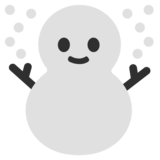 Snowman on Google Android 7.1