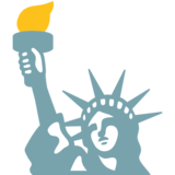 Statue of Liberty on Google Android 7.1