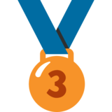 3rd Place Medal on Google Android 7.1