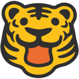 Tiger Face on Google Android 7.1