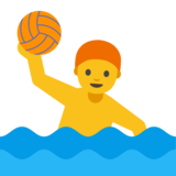 Person Playing Water Polo on Google Android 7.1