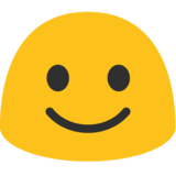 Smiling Face on Google Android 7.1