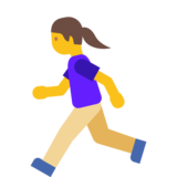 Woman Running on Google Android 7.1