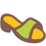 Woman's Sandal on Google Android 7.1