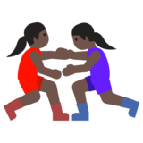 Women Wrestling, Type-6 on Google Android 7.1