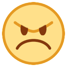 Angry Face on HTC Sense 7