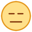 Expressionless Face on HTC Sense 7