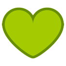 Green Heart on HTC Sense 7