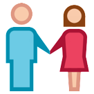 Woman and Man Holding Hands on HTC Sense 7