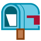 Open Mailbox with Lowered Flag on HTC Sense 7