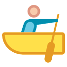 Person Rowing Boat on HTC Sense 7
