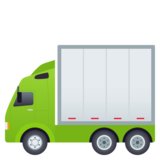 Articulated Lorry on JoyPixels 5.5