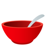 Bowl with Spoon on JoyPixels 5.5