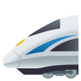Bullet Train on JoyPixels 5.5