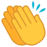 Clapping Hands on JoyPixels 5.5