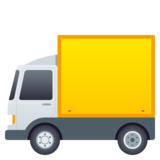 Delivery Truck on JoyPixels 5.5