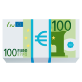 Euro Banknote on JoyPixels 5.5