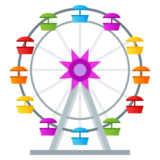 Ferris Wheel on JoyPixels 5.5