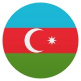 Flag: Azerbaijan on JoyPixels 5.5