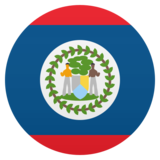Flag: Belize on JoyPixels 5.5
