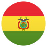 Flag: Bolivia on JoyPixels 5.5