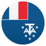 Flag: French Southern Territories on JoyPixels 5.5