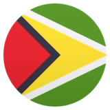 Flag: Guyana on JoyPixels 5.5
