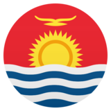 Flag: Kiribati on JoyPixels 5.5