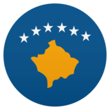 Flag: Kosovo on JoyPixels 5.5