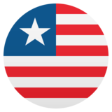 Flag: Liberia on JoyPixels 5.5