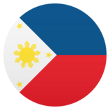 Flag: Philippines on JoyPixels 5.5