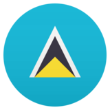 Flag: St. Lucia on JoyPixels 5.5