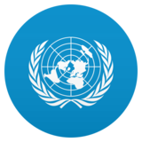 Flag: United Nations on JoyPixels 5.5