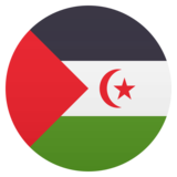Flag: Western Sahara on JoyPixels 5.5