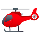 Helicopter on JoyPixels 5.5