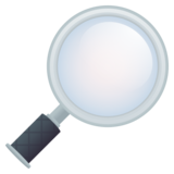 Magnifying Glass Tilted Right on JoyPixels 5.5
