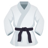 Martial Arts Uniform on JoyPixels 5.5