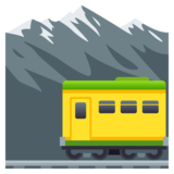 Mountain Railway on JoyPixels 5.5