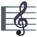 Musical Score on JoyPixels 5.5