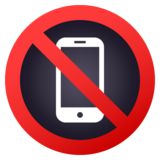 No Mobile Phones on JoyPixels 5.5